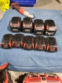 Milwaukee tools and batterys