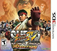 SUPER streetfighter 4 3ds