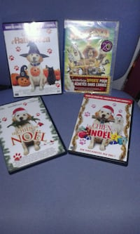Quatre DVD assortis