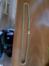 18k gold plated cuban chain Guelph, N1E 6K7