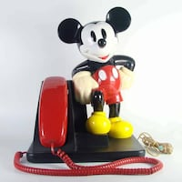 Mickey Mouse Phone 1989 (Vintage)