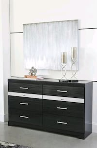 Ashley Starberry Black Dresser, Brand New, Best Price ! Odenton, 21113