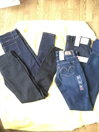 Forever 21 and Levi's denim jeans Virginia Beach, 23456