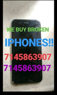 I will buy your cracked iphones CASH on the spot!