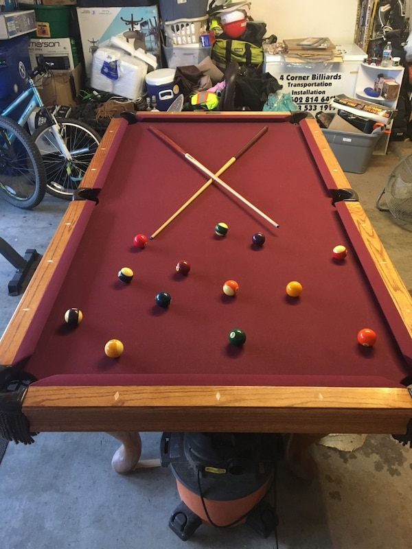 Used Beautiful Ft Buckhorn Pool Table For Sale In Avondale Letgo - Buckhorn pool table