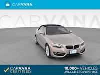 2016 BMW 2 Series 228i Convertible 2D Fort Myers