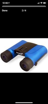 Waterproof Levenhuk Rainbow 8x25 Binoculars (Wave Blue) Toronto