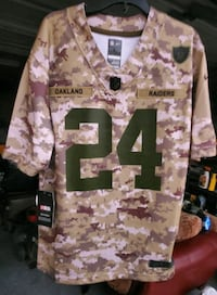 Nike Lynch Salute To Service Raiders Jersey Size Large Mens