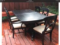 Project dining table and chairs... needs work Danville, 94526