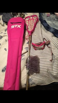 STX lacrosse stick, goggles, and carrying case Lewisberry, 17339