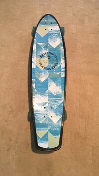 blue, white and beige Kryptonics cruiser board New Haven, 06515