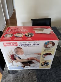 Fisher Price Baby Booster Seat Deluxe Set