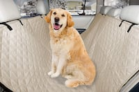 Pet Quilted Hammock Car Rear Seat Cover Toronto