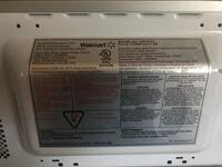 Stainless steel and black microwave oven Brampton, L6V 2B1