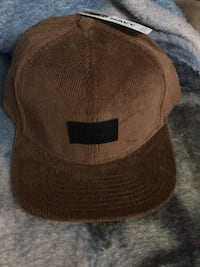 Brown and black fitted cap Surrey, V3T