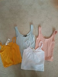 Crop top. Size S. Take all.
