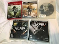 5 Playstation 3 games Fort Worth, 76135