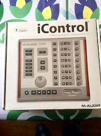 iControl for Garage Band, Logic Pro. Made by $50 M-Audio Baltimore, 21214