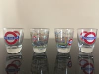 Shot glasses from London CHICAGO