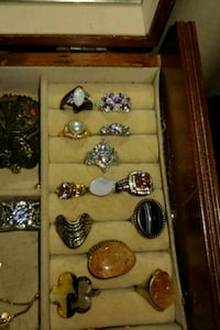 silver and gold rings lot Huntsville, 35802