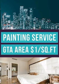 Professional Painter Service for GTA area  Toronto