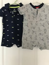 Boy's rompers.  18 months.  $3 each  Sterling, 20165