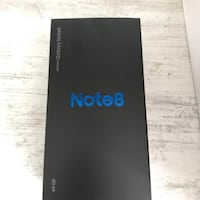 New note 8. 10/10 condition everything new. Need gone by Monday message me for pickuo Vaughan, L4H
