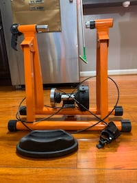Indoor Bicycle Trainer Exercise Machine - Variable Magnetic Resistance Rockville, 20850