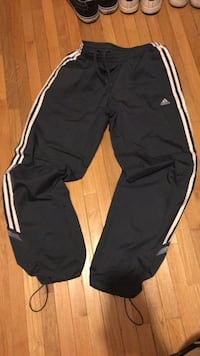 grey and white adidas pants  Brampton, L6V