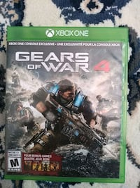 Gears of war 4 Xbox one Burnaby, V5G 1P3