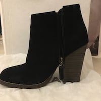 Black Suede Chelsea Boots from Noul Richmond, V6Y 3X7