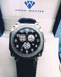 Aqua Master Diamond Watch