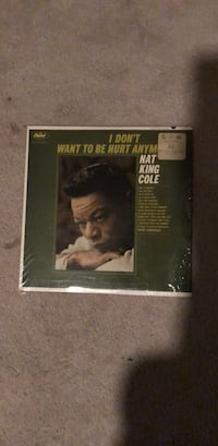 Nat King Cole vinyl record   26 km