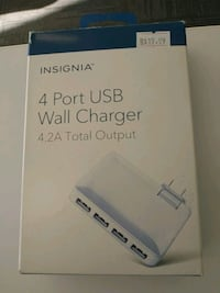 Insignia 4 port wall charger