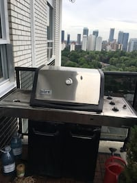 Used 3 Burner BBQ Barbecue