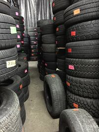 Tires used and new! Many sizes available!  Nashua, 03060
