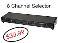 8 Channel Selector  Scottsdale, 85260