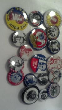 VINTAGE CAMPAIGN BUTTONS REPLICAS - $15 (NW DC WASHINGTON