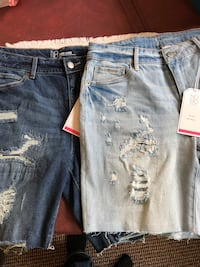 New No Boundries mid rise boyfriend Bermuda shorts. Shipping offered