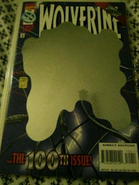 wolverine issue 100 comic book