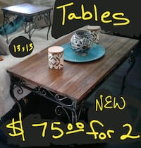 Tables new both for only $75 , mother paid $300 Crest Hill, 60403