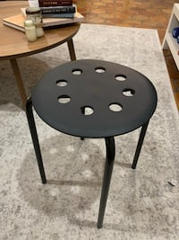 Black Stool/End Table Washington, 20037