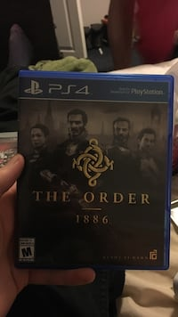 Sony PS4 The Order 1886 game case Kamloops, V2B 4L4