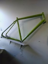 green and black metal frame Vancouver, V6B 1G4