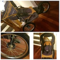 black and gray bicycle trailer Alexandria, 22310