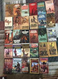 29 Western Paperbacks - L'Amour / Short / Judd + More! Pick Up in Hagerstwon MD. 21742. Shipping at buyers cost.