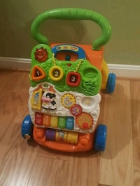 baby's multicolored activity walker 53 km