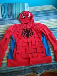 Spiderman zipper hoodie small adult Montreal, H9C