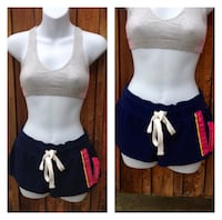 Navy Blue Shorts: Size Small
