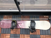 """Snowboard- used with some rust..63"""" long  Toronto, M9B"""
